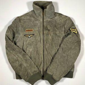 Wilson Leather Maxima Jacket  Green Size Large